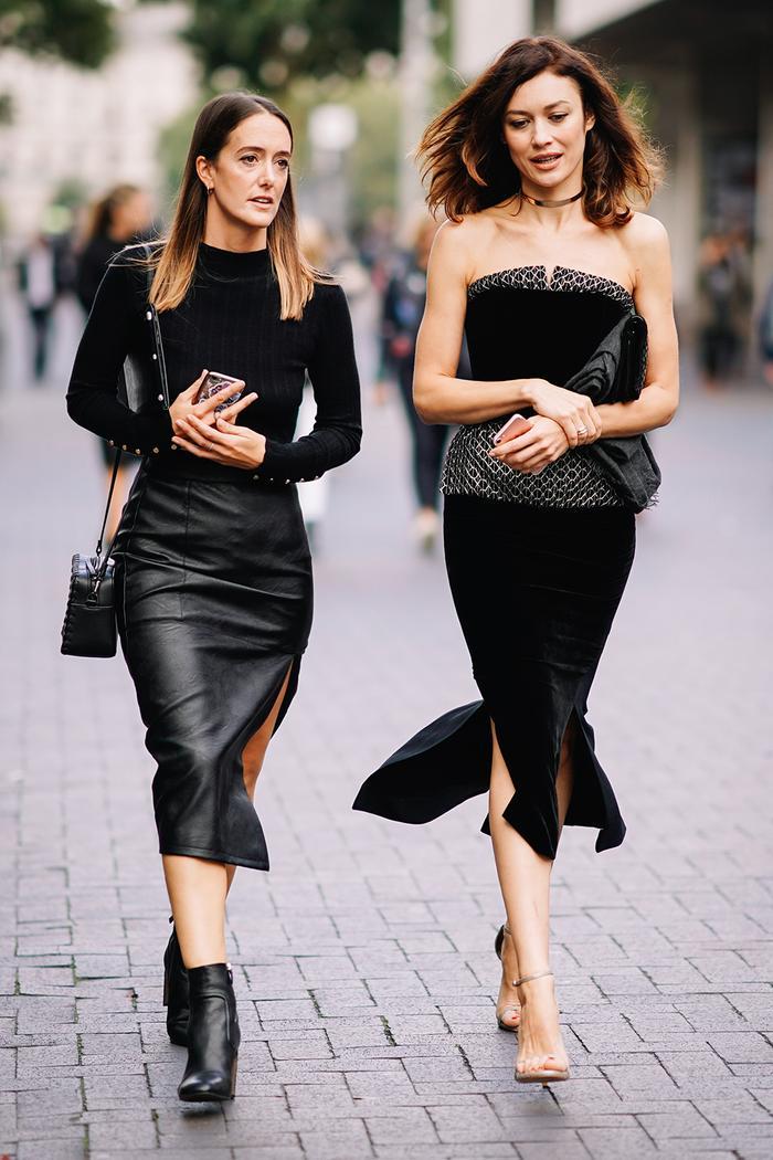 Black pencil skirt fashion 58