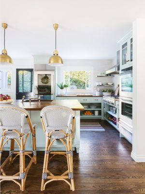 Inside a Refreshing Santa Barbara Home With Bursts of Sage and Blue