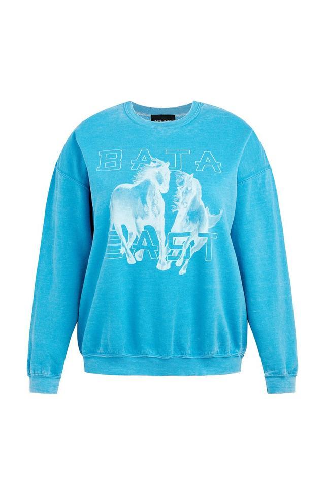 Baja East Horse Sweatshirt
