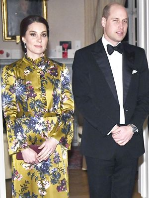 Kate Middleton Wore a Daring Gown for Dinner With Another Princess