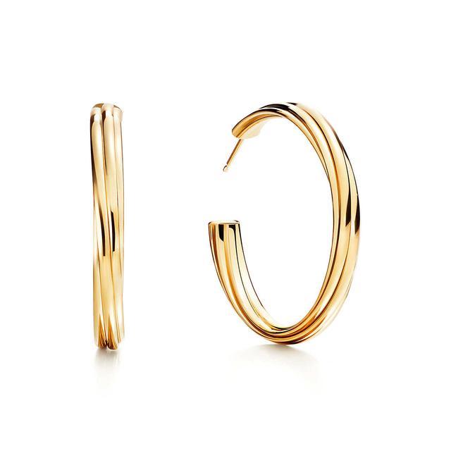 Tiffany & Co Paloma's Melody Hoop Earrings