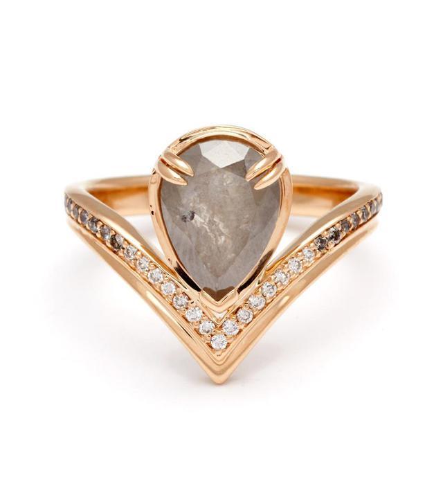 Anna Sheffield Butterfly Chrysalis Ring