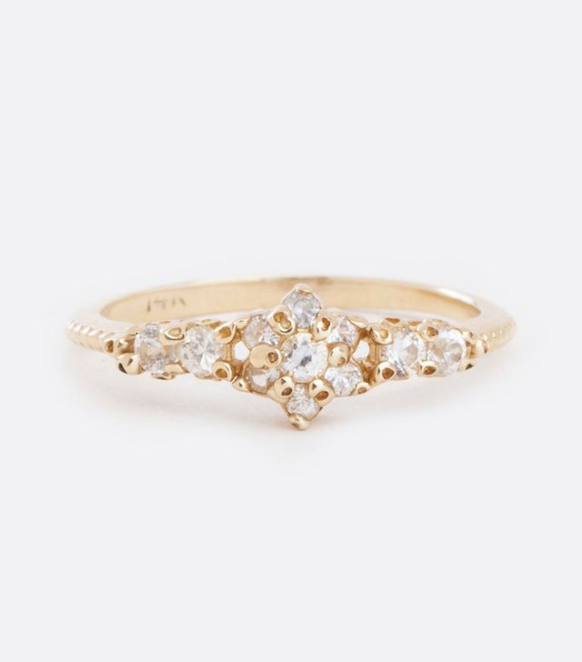 Ruta Reifen Floral Gold Ring