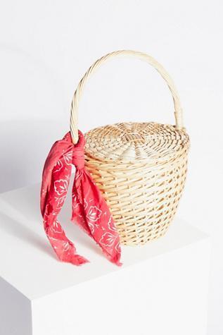 Free People Straw Basket