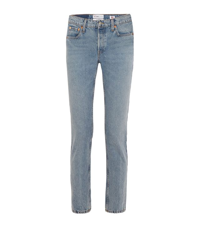 Cindy Crawford The Crawford High-rise Straight-leg Jeans
