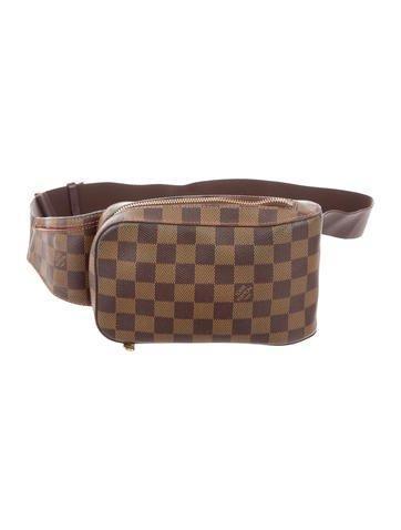 Louis Vuitton Damier Ebene Geronimos Bag