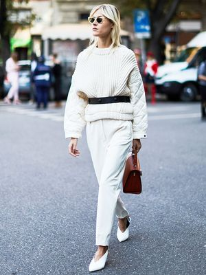 New at Net-a-Porter: All-White Outfits You Can Wear Year-Round