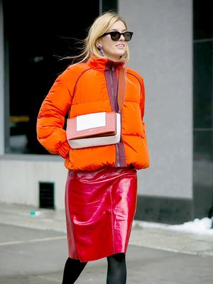 If You Have to Wear a Skirt This Winter, Wear It This Way
