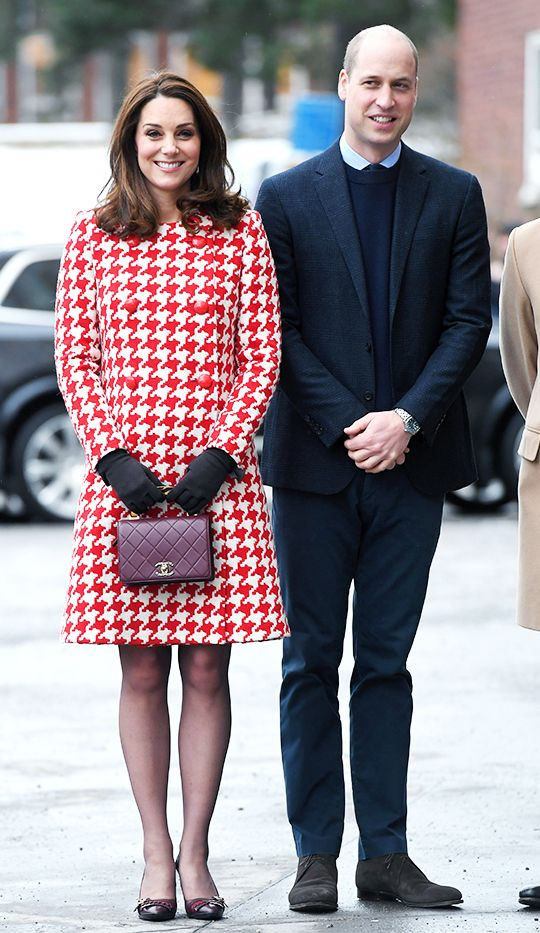 Duchess of Cambridge carrying a Chanel Handbag