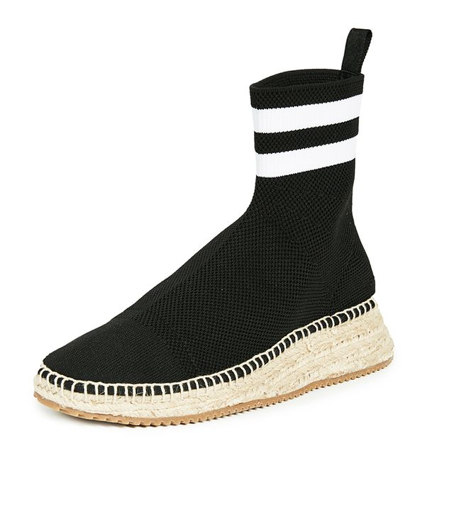 Dylan High Knit Espadrille Runners