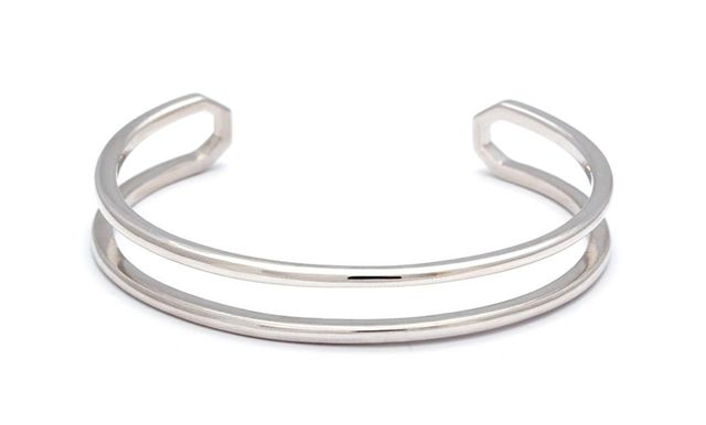 Anna Sheffield Attelage Plain Cuff in Sterling Silver