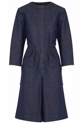 Vanessa Seward Gathered Denim Dress