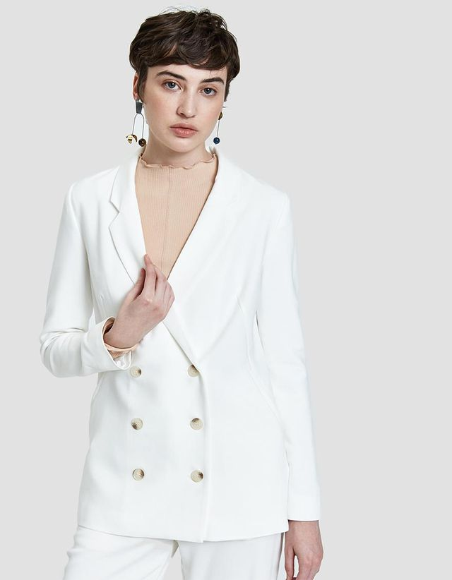 Stelen Maia Blazer in Off White