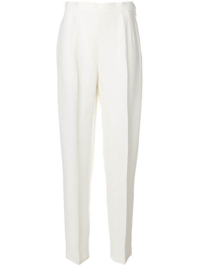 Moschino Vintage High-Waist Tailored Trousers