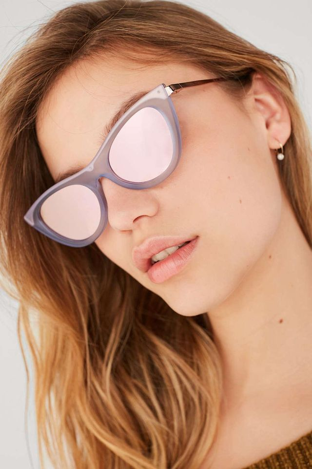 Le Specs Enchantress Cat-Eye Sunglasses