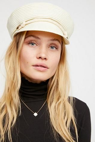 Free People Walk the Walk Lieutenant Hat