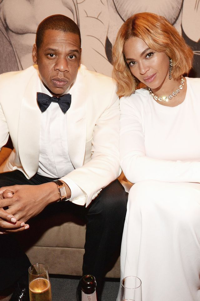 Bey and J have long been familiar with matching outfits for couples. But it's their glamorous white looks that have our jaws dropping more than anything else. Serious question: Is there...