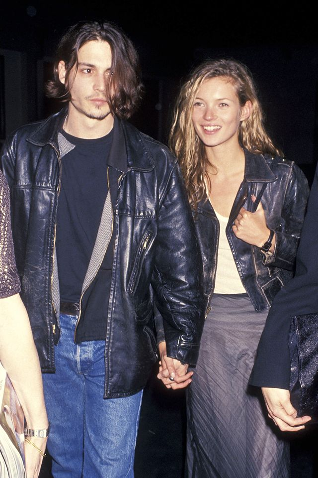 We're throwing it back a bit here, but we know Kate Moss fans will appreciate this all-out '90s look. Because really, who doesn't miss the days of Kate and Johnny?