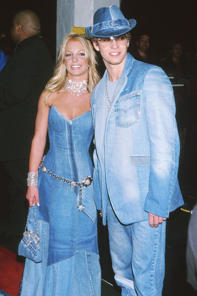 And last but certainly (certainly) not least, the matching celebrity outfit that's as iconic as they come. We're betting that Britney Spears and Justin Timberlake's head-to-toe denim...