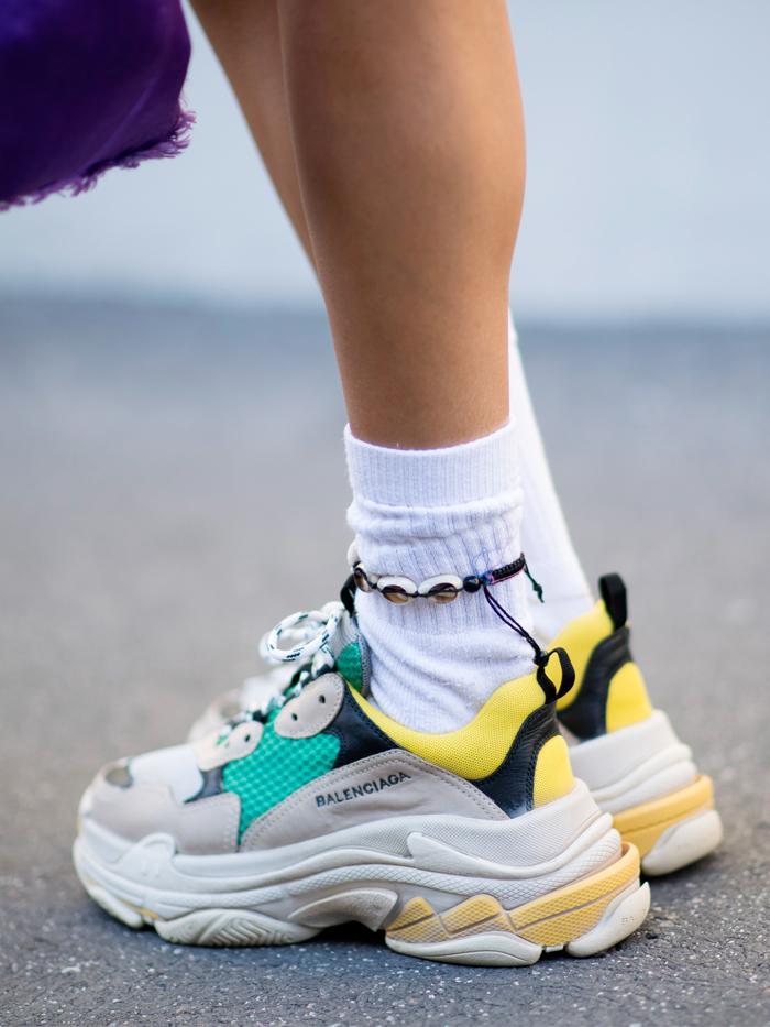 Balenciaga sneakers street style