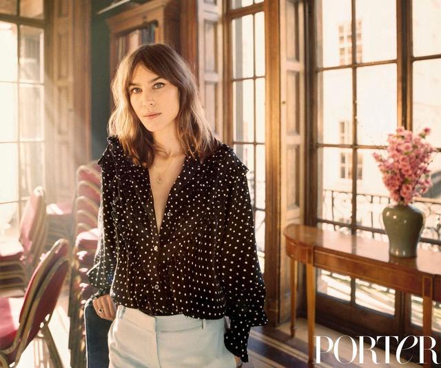 Alexa Chung for Porter