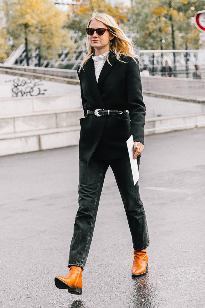 The Coolest Outfits to Wear With Black Jeans | Who What Wear