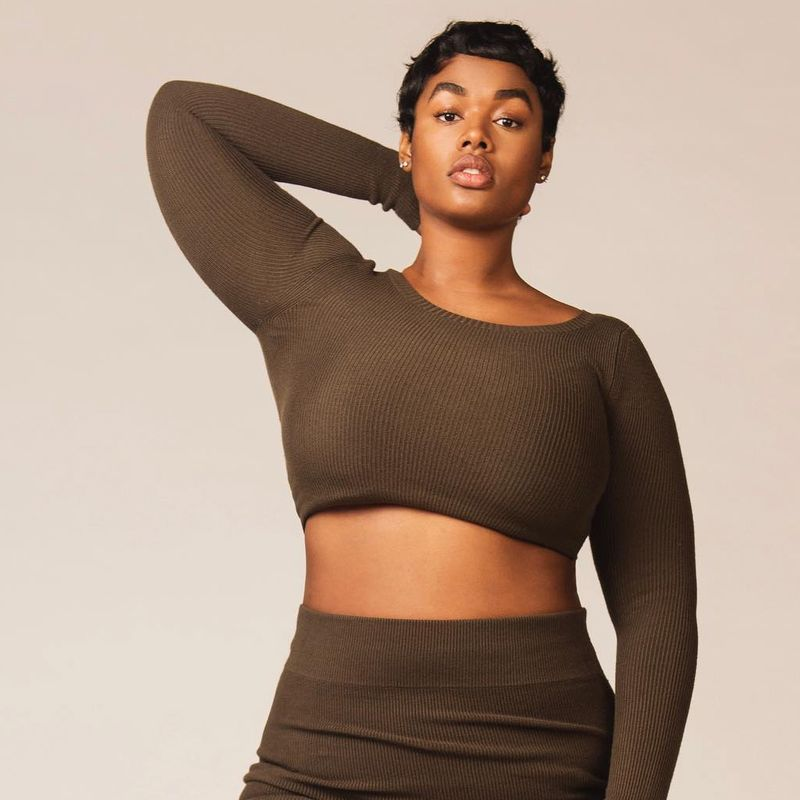 69dcea9fa49 ... seem like an obvious expert—she s a face of Lane Bryant s lingerie line  (and full disclosure
