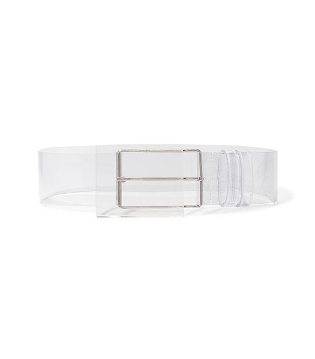 Perspex And Vinyl Waist Belt
