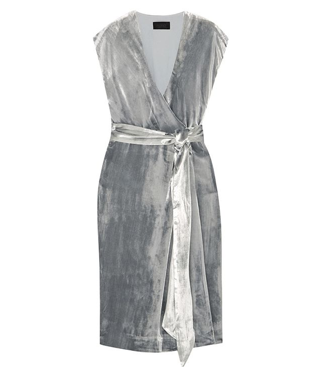 Frida Velvet Wrap Dress