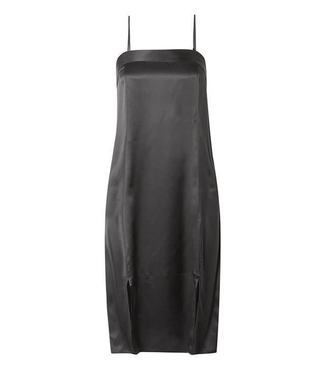 Kelby Silk-satin Midi Dress