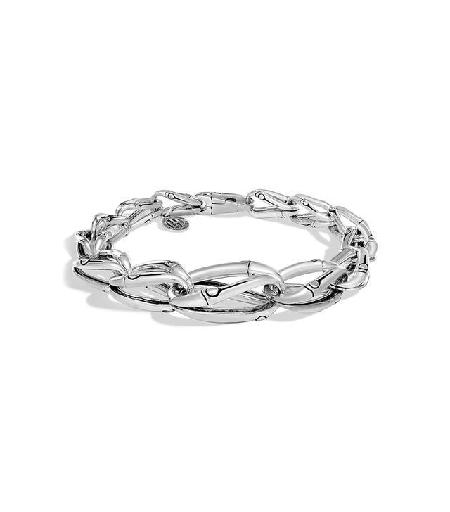 Bamboo Tapered Link Bracelet