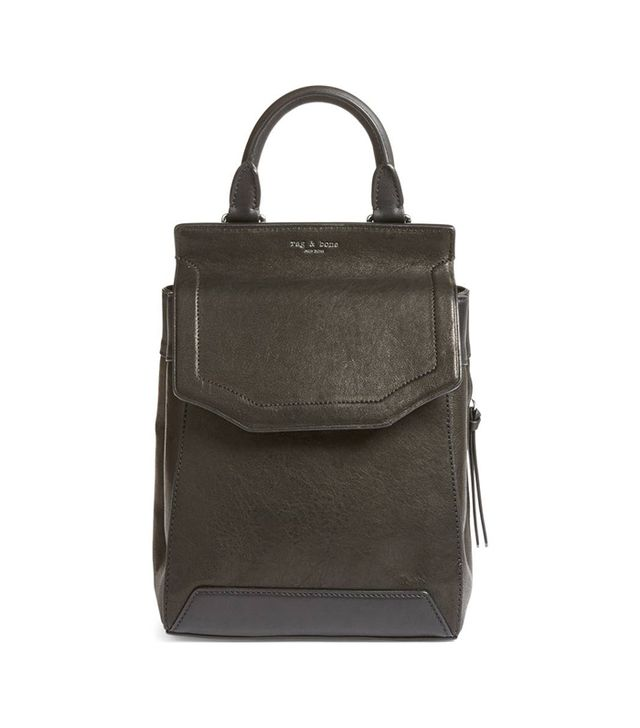 Rag & Bone Small Pilot Ii Leather Backpack -