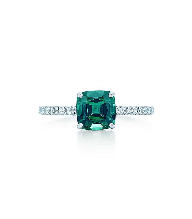 Tiffany & Co. Green Tourmaline Ring