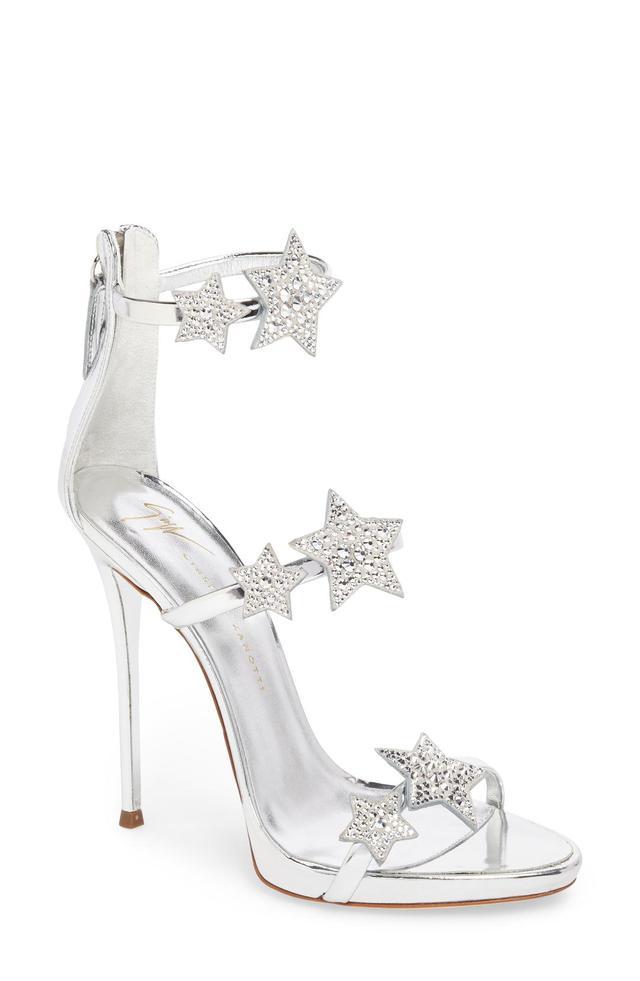 Coline Embellished Star Strap Sandal