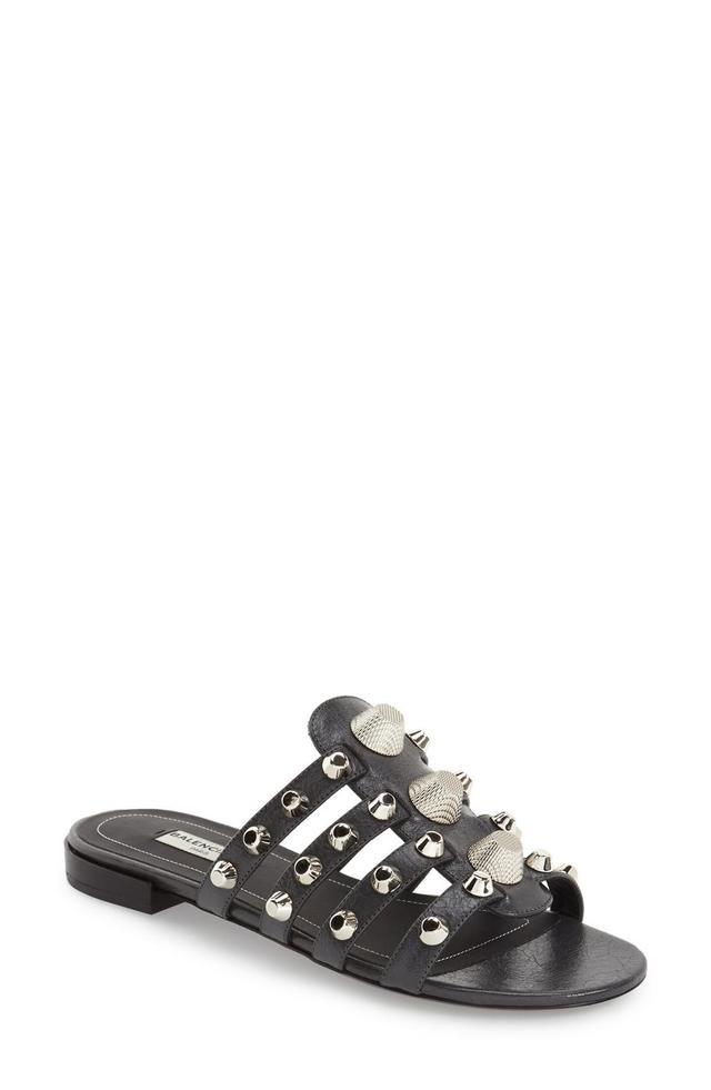 Studded Slip-On Sandal