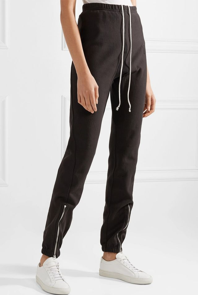 Cotton-terry Track Pants