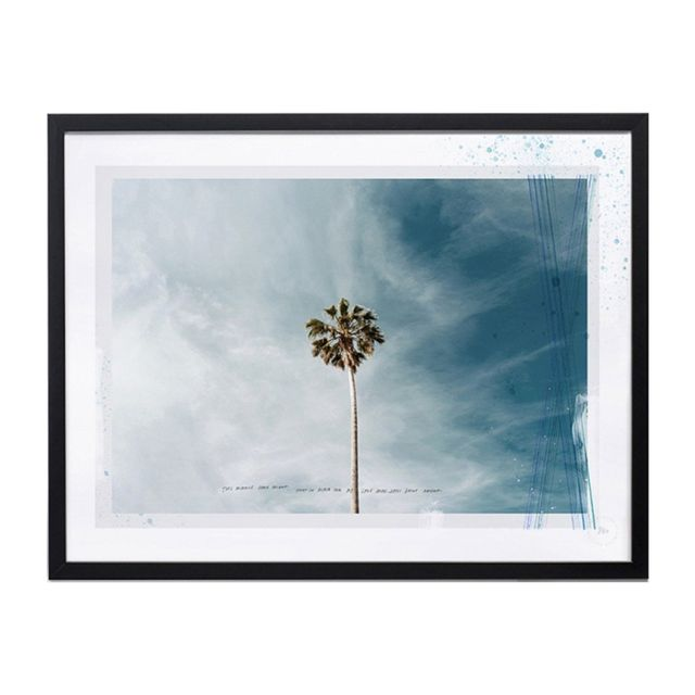 Blacklist Miracle Palm Print