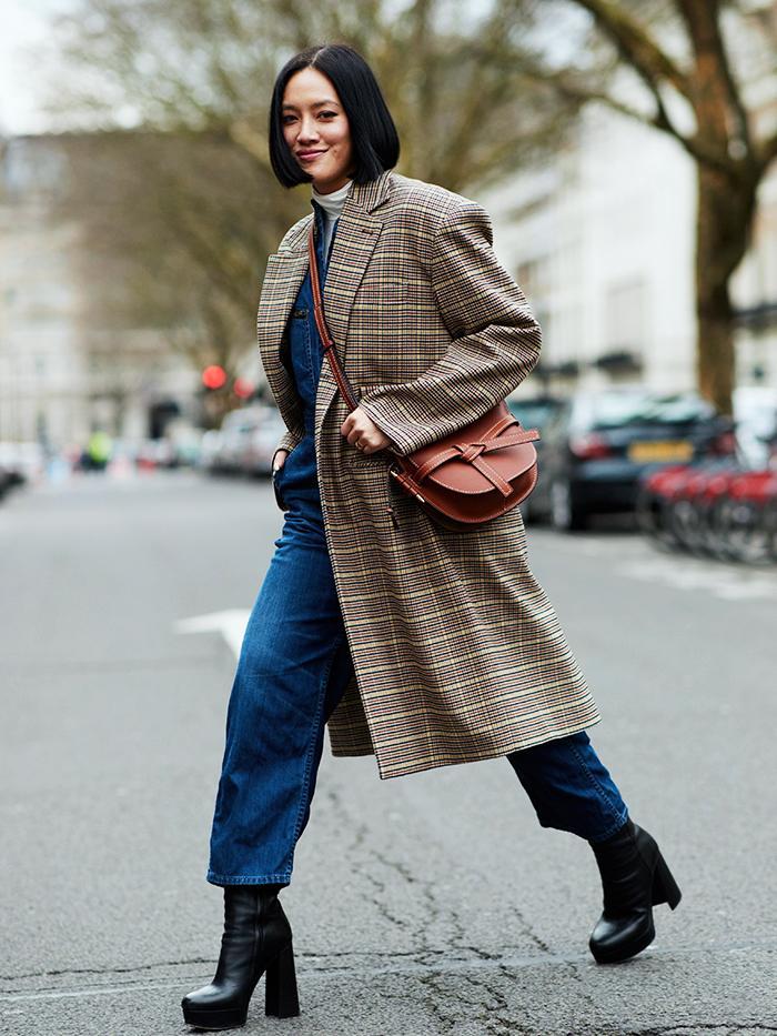 Checked Coat Trend