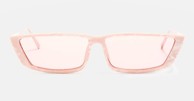Winona Slim Rectangle Sunglasses