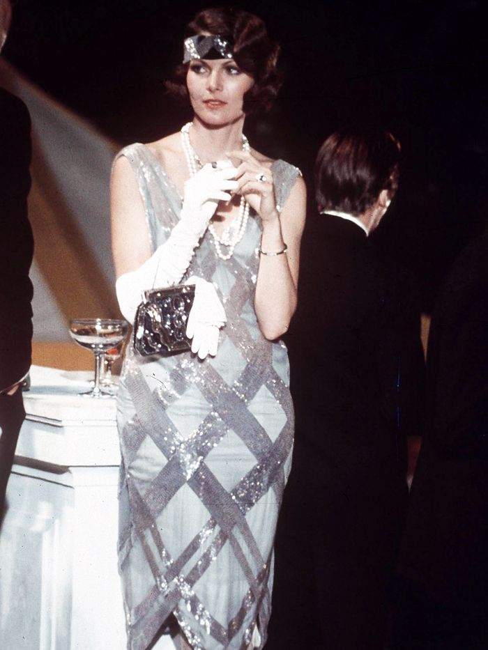1920s fashion: Lois Chiles in The Great Gatsby