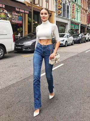 The '80-Inspired Shoes Olivia Culpo Is Loving Right Now
