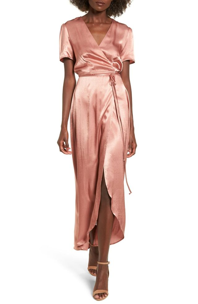 Gwyneth Wrap Maxi Dress
