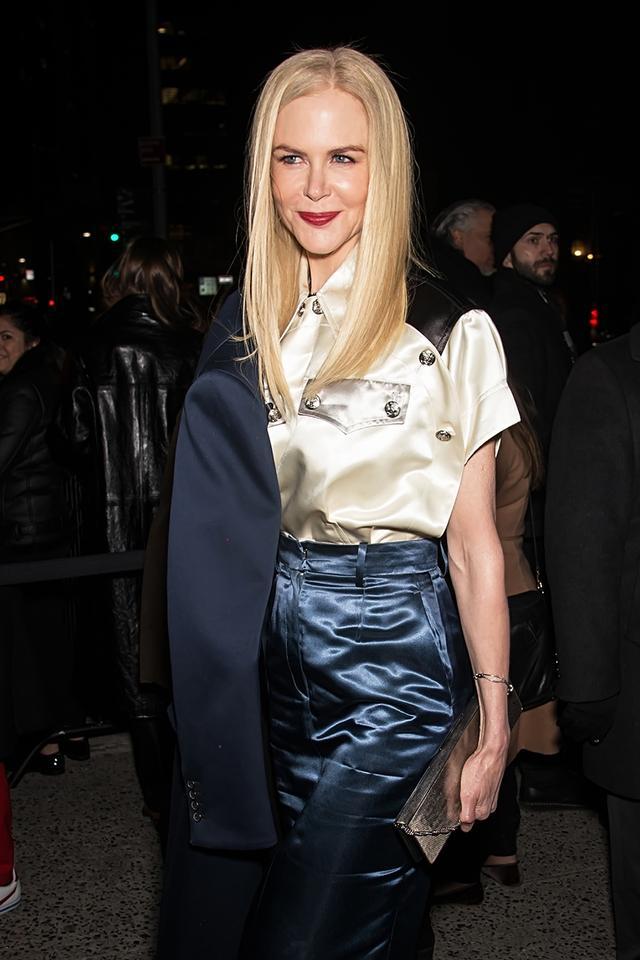 WHO: Nicole Kidman WHAT: Calvin Klein F/W18 Show.
