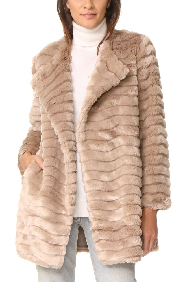 McCoy Faux Fur Coat