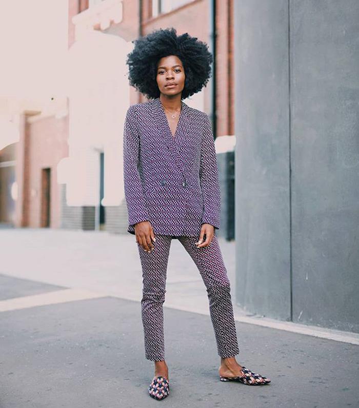 Best high street suits: Freddie Harrel wearing a H&M suit