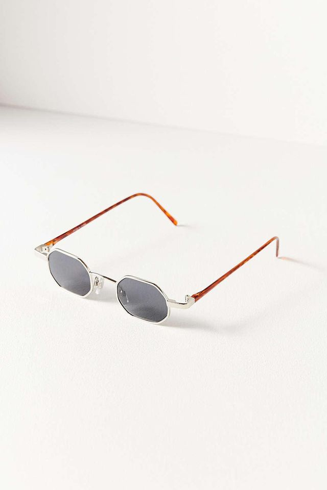 Urban Outfitters Vintage 90s Octagonal Sunglasses