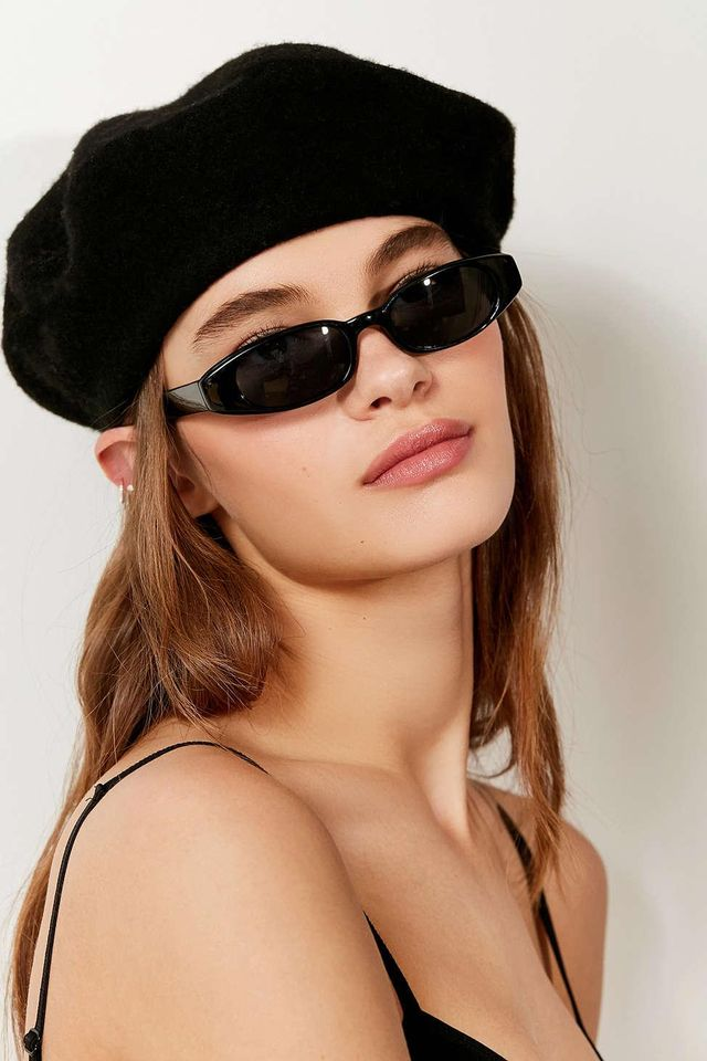 Urban Outfitters Vintage Lucy Oval Sunglasses