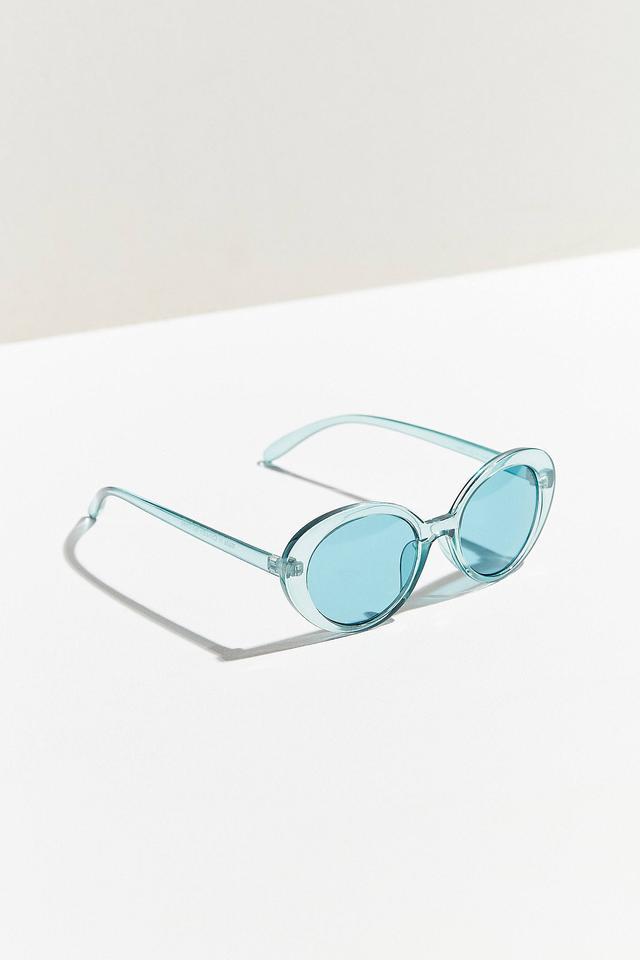 Urban Outfitters Sadie Slim Oval Sunglasses