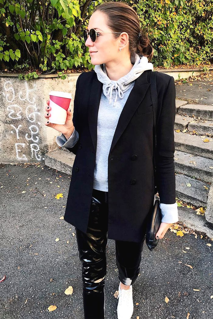 How Women Actually Style Their Blazers In The Winter Who