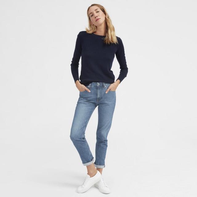 Women's Modern Boyfriend Jean by Everlane in Mid Blue, Size 31